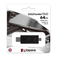 Kingston Flashdisk - OTG TYPE C 64GB USB 3.2 DataTraveler DTDE