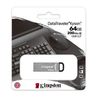 Kingston Flashdisk 64GB up to 200mb/s USB 3.2 Data Traveler DTKN
