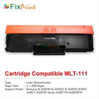 Cartridge Toner Compatible MLT-D111S 111S Samsung M2020 M2022W M2071W
