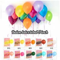 balon isi 5 balon latex 5 inch balon kecil
