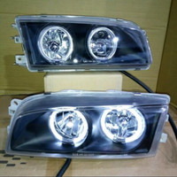 Headlamp angel eyes mitshubishi Lancer EVO 4 1997-2001