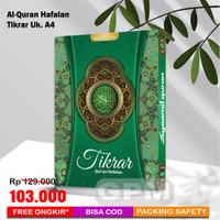 Al-Quran Hafalan Tikrar uk. A4 (Syamil Quran)
