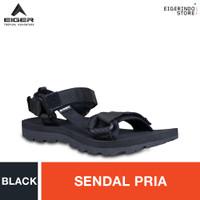 Eiger Tomahawk Roll Strap Sandals - Black