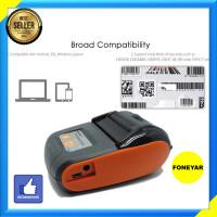 Printer Kecil Bluetooth Kasir Thermal Resi Pengiriman 58mm Multifungsi