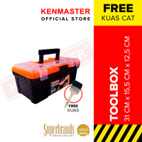 Kenmaster Tool Box 12.5 in