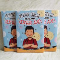 Komik Sehat Bersama Dokter APIN Buku Anak Dewasa dr