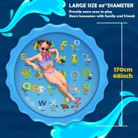 Kolam Air Mancur Anak Matras Air Mancur Anak Kolam Renang Karet Anak - 170CM