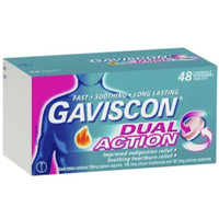 gavisco double action obat maag 48tabs