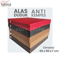 ALAS DUDUK / BANTAL MEDITASI /REBOUNDED FOAM / 55x50x7 CM
