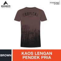 Eiger X Misty Rainforest T-shirt - Brown