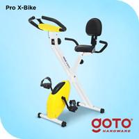Kova Pro X Bike Sepeda Statis Olahraga Gym Alat Fitnes Dengan Sandaran