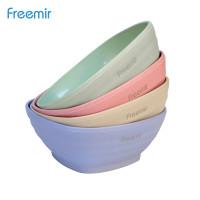 Freemir Mangkuk Kotak Square Bowl Mangkok Wheat Straw BPA free 4 Pcs