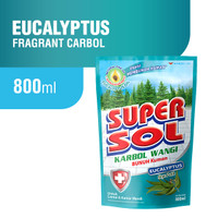 Supersol Karbol Eucalyptus Pouch 800 ml