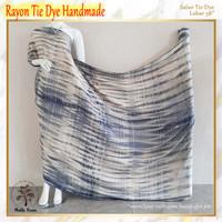 Bahan kain rayon premium Lebar 140 cm tiedye Tie Dye Handmade eceran