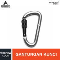 Eiger 8 MM D Carab Wscrew Lock