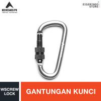 Eiger 6 MM D Carab Wscrew Lock