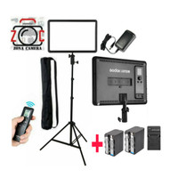 Paket Godox P260c LED Video Light Komplit Battery Lampu Vlog Studio