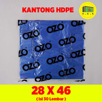 Kantong Plastik Kresek Warna-Warni Tebal UK 28x46 HDPE