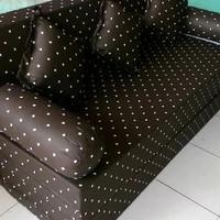 SOFA BED BUSA INOAC MULTIFUNGSI 3IN 1 UK.200X180X20 MOTIF BNYK PLHN
