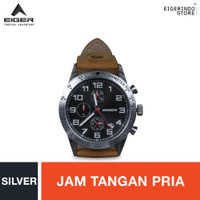 Eiger Riding Silverstone Watch - Silver
