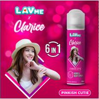 Lavme X Clarice 6 In 1 Hand & Body Spray Anti Virus - Pinkish Cutie
