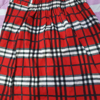 Twelve Skirt Tartan/Pencil Skirt/Rok Tartan