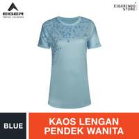 Eiger WS X Solivagant T-shirt - Blue