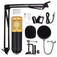 Mic BM800 Microphone BM 800 Paket Komplit For Youtuber Vlogger