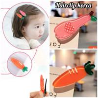 jepit korea anak import carrots strawberry