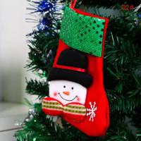 Hiasan kaos kaki gantung untuk dekorasi Natal Merry Christmas