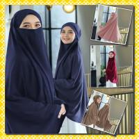 Jilbab Bergo Khimar Syari Madinah Jumbo Jersey Murah Terbaru