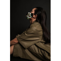 Jkusno x TORENDA fashion designer Mask Black