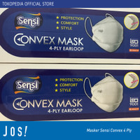 Masker Sensi Convex Mask 4ply evo plusmed 4D kf94 earloop isi 20
