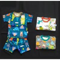 Velvet Junior XXL Setelan Oblong Baju Tidur Piyama Pendek Anak Bayi