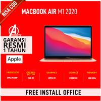 "New Macbook Air 13.3"" M1 2020 13"" 8GB 512GB / 256GB Chip 8 Core - 256GB, Gold"