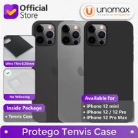 Case iPhone 12/mini/Pro/Pro Max Protego Tenvis Ultra Thin Slim Casing