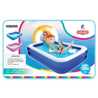 Kolam Renang Anak Murah Jumbo 2 meter Swimming Pool Baby 2 Ring