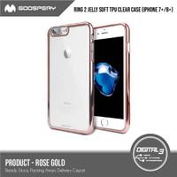 Mercury Goospery Ring 2 Chrome Jelly Soft Case Iphone 7 Plus / 8 Plus