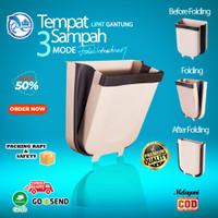 Tempat Tong Kotak Box Sampah Dapur Lipat Gantung / Foldable Hanging
