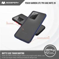 Mercury Goospery Peach Garden Bumper Lite Case Samsung Note 20 TPU