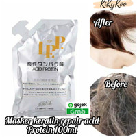 Masker keratin repair acid protein 100ml / LPP acid protein 100ml