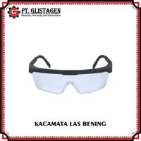 Kacamata Las Kaca Mata Safety Gerinda Bening Clear