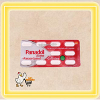 Panadol Extra Paracetamol / meringankan sakit kepala