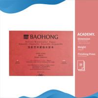 Kertas Cat Air Baohong Artists 41x31cm Hot Pressed Watercolor Pad