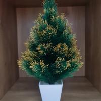 Pohon Natal 881789G Ukuran 1FT - Christmas Mini Pot Fir Tree