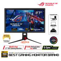 ASUS ROG Strix XG27UQ DSC Gaming Monitor 27 4K, 1ms, 144Hz, HDR 400