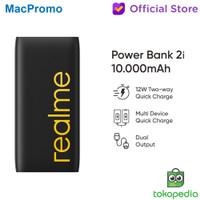 Realme Powerbank Power Bank 2i 10000mAh Quick Charge Dual Output