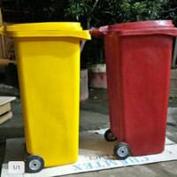 tempat/Tong Sampah Dustbin BESAR 120 Liter Roda