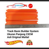 Hotwheels Track Builder System Ukuran Panjang 23CM Asli Original