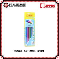 Lippro Kunci L Set 8 Pcs Extra Long Key Heavy Duty S2